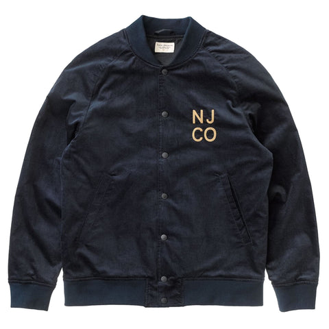 Mark Velvet Jacket (Navy) - Nudie Jeans