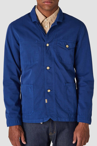 David Shirt/Jacket (Navy) - Kings Of Indigo