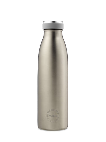 Drinking Bottle 500ml (Cool Grey) - AYAIDA