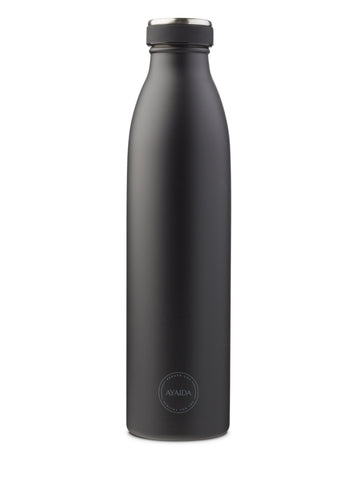 Drinking Bottle 750ml (Matte Black) - AYAIDA
