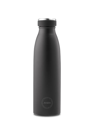 Drinking Bottle 500ml (Matte Black) - AYAIDA