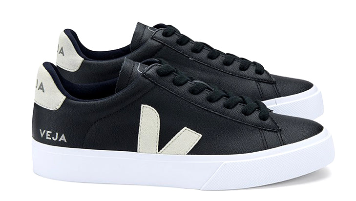 Campo Black Natural WMNS - VEJA Shoes