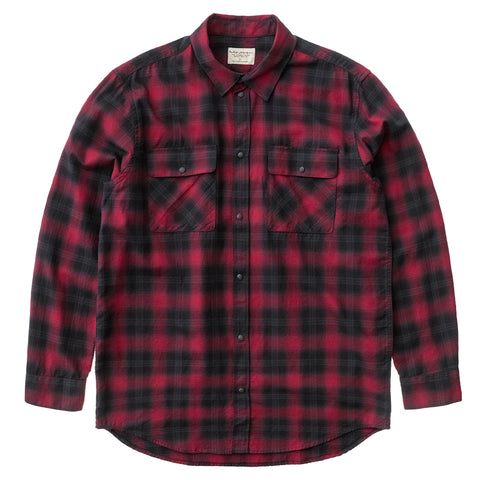 Gabriel Shadow Check (Cherry) - Nudie Jeans