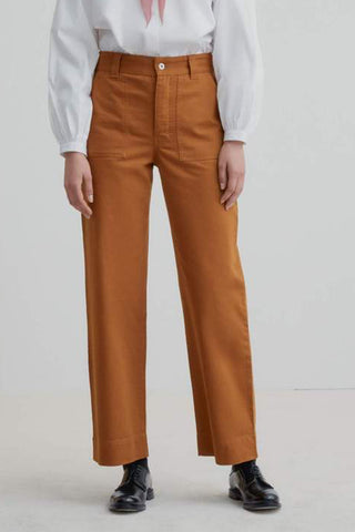 Carpenter Pant (Brass Denim) - Kowtow