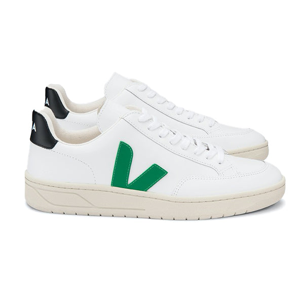 V12 Extra White Emeraude Black - VEJA Shoes