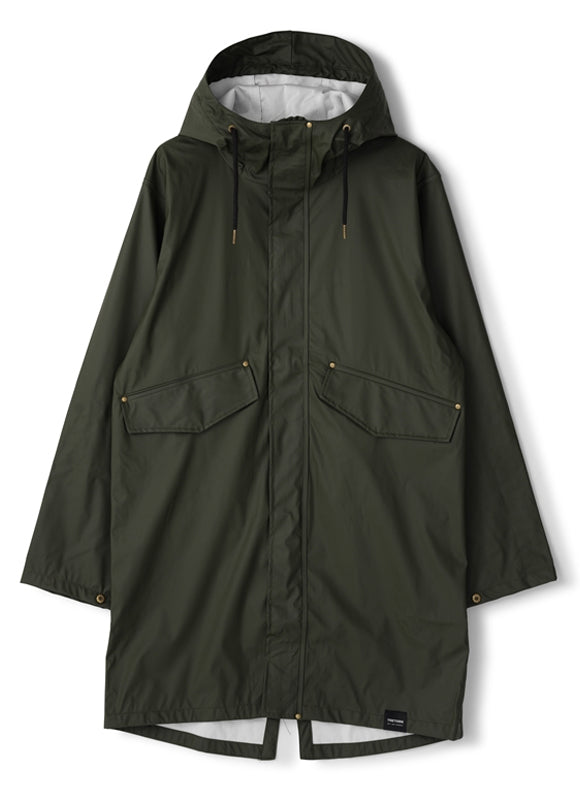 Urban Parka Raincoat (Forest Green) - TRETORN