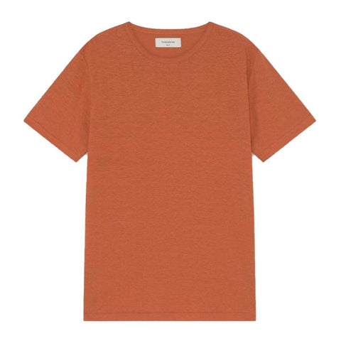 Hemp T-Shirt (Terracotta) - Thinking MU