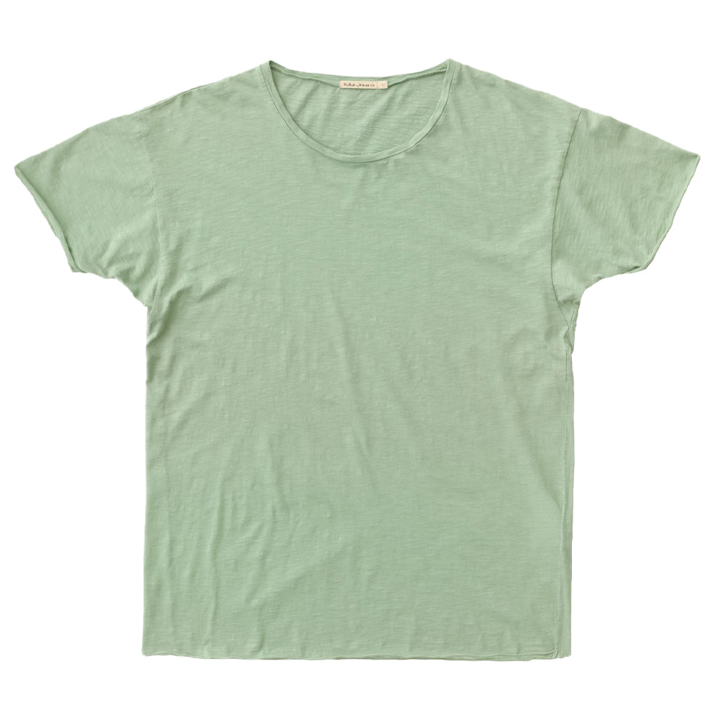 Roger Slub T-shirt (Pale Green) - Nudie Jeans