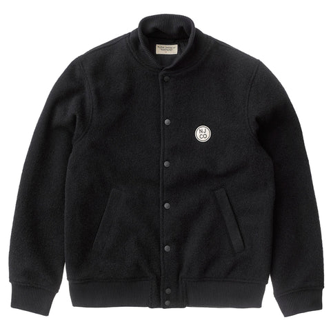 Bengan Wool Fleece Jacket (Black) - Nudie Jeans