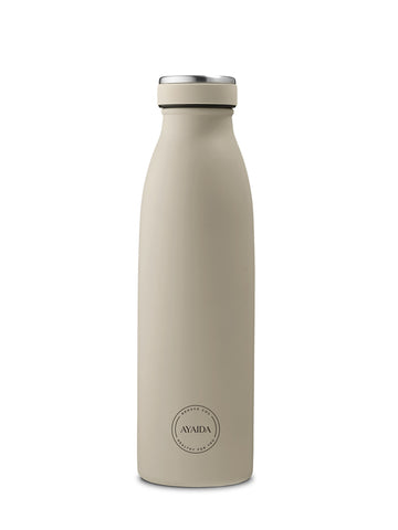 Drinking Bottle 500ml (Cream Beige) - AYAIDA