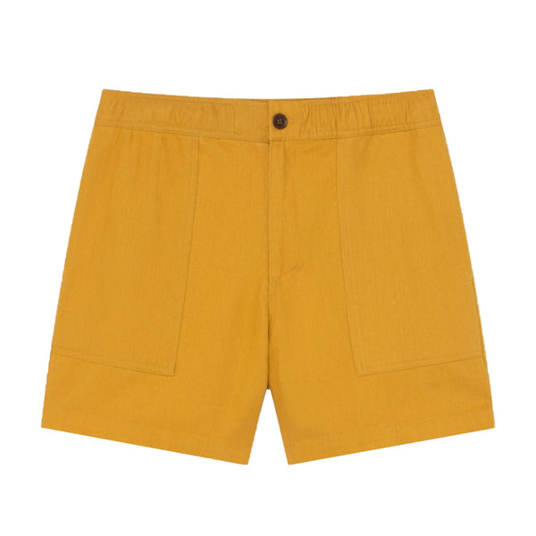 Kivu Short (Mustard Hemp) - Thinking MU