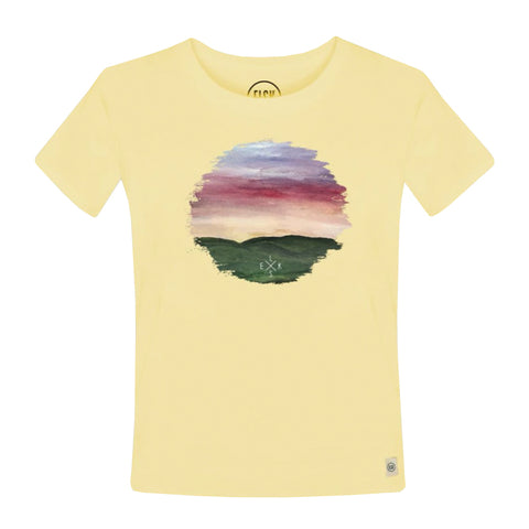 Peak Ly Women's Tee (Banana) - ELSK