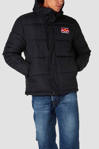 Annei Puffer Jacket (Black) - Kings Of Indigo