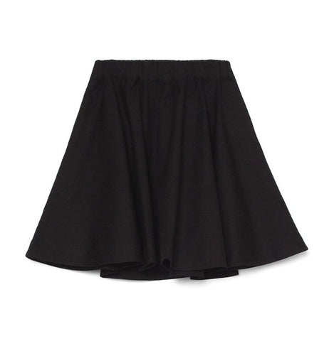 Circle Skirt (Black Canvas) - Kowtow