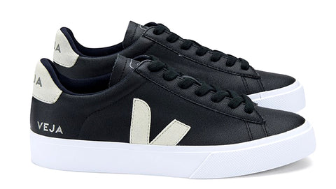 Campo Black Natural - VEJA Shoes