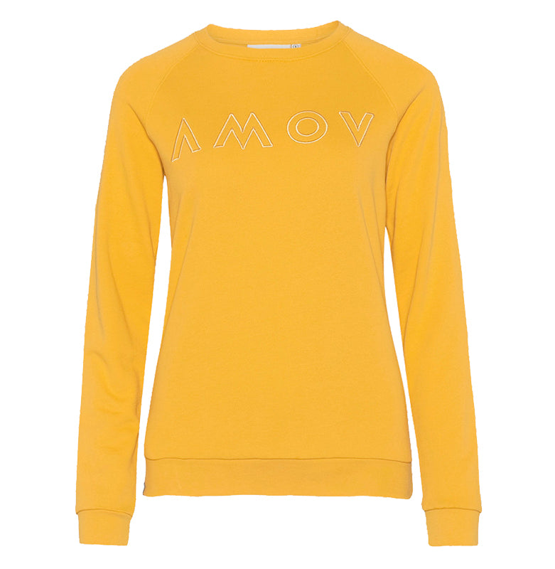 Amy Logo Sweat (Golden) - AMOV