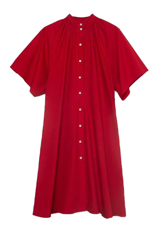 Observer Dress (Scarlet) - Kowtow