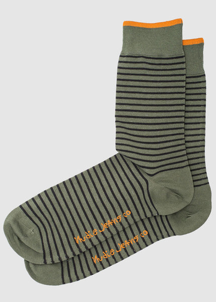 Olsson Socks Striped - Nudie Jeans