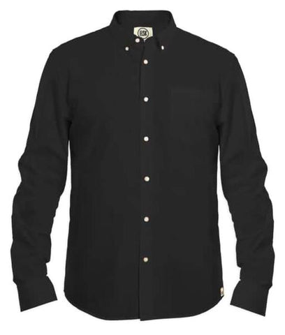 Poplin Shirt Black - ELSK
