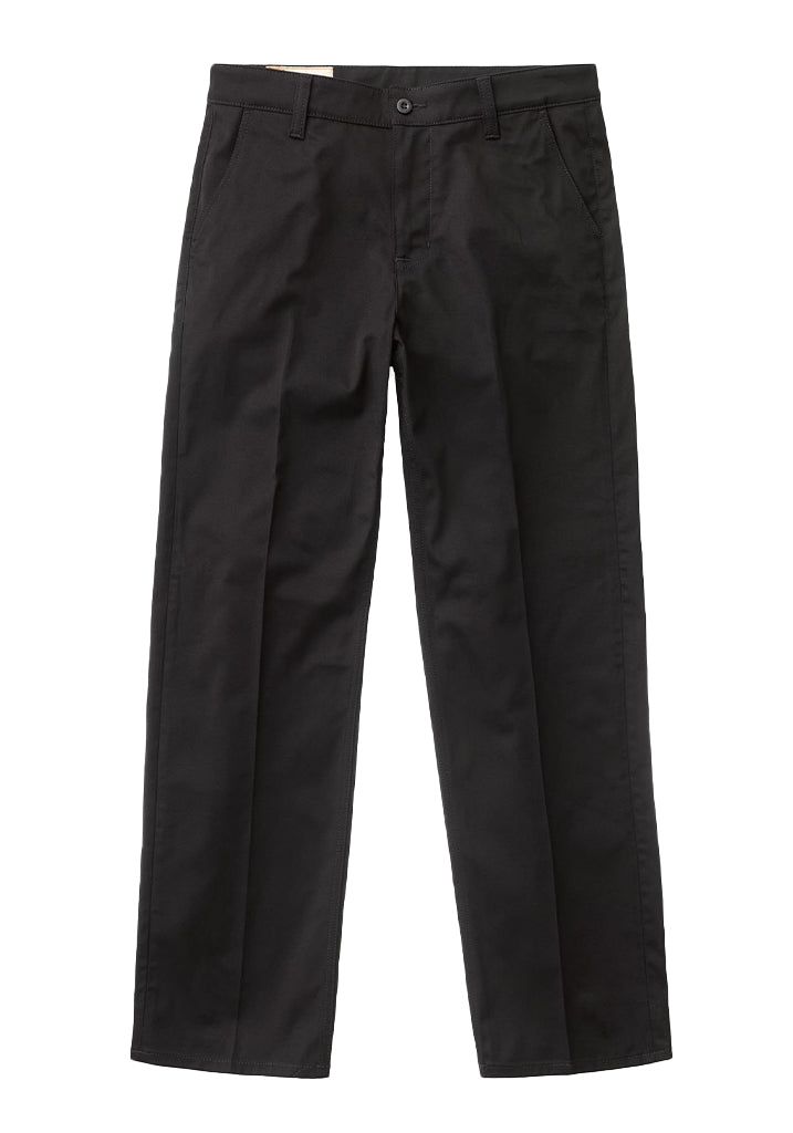 Lazy Leo (Black) - Nudie Jeans