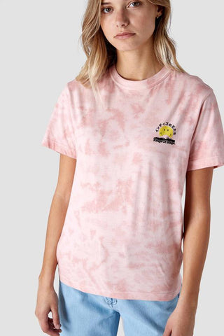 Miro T-shirt (Tie Dye Pink Smiley) - Kings Of Indigo