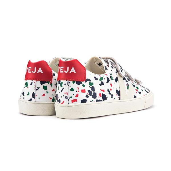 3-Lock Leather Terrazzo - VEJA Shoes