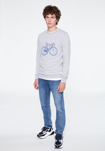 Yorick Bike On Bike Sweatshirt - ARMEDANGELS