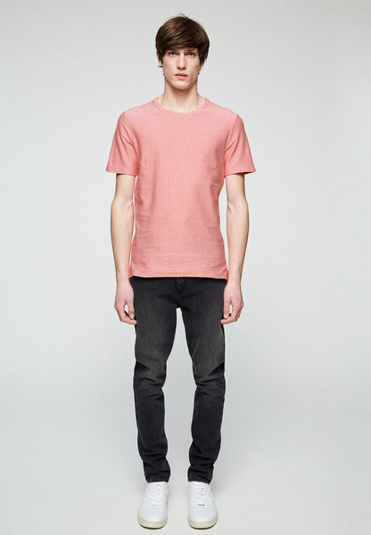 Saam T-shirt (Glossy Orange) - ARMEDANGELS