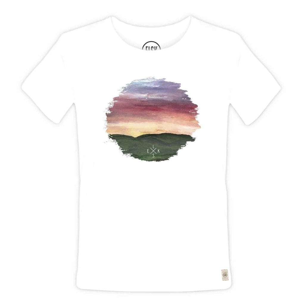 Peak Women's Tee (White) - ELSK