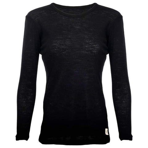Pure Wool LS Womens Tee - ELSK