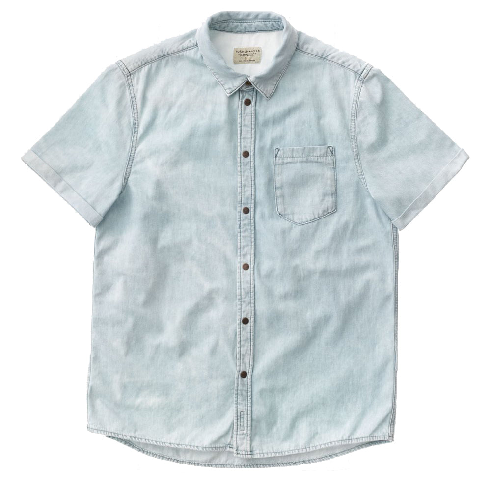 Henrik Shirt (Light Shade) - Nudie Jeans