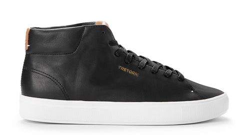 Tournament Leather HI WP (Black) - TRETORN