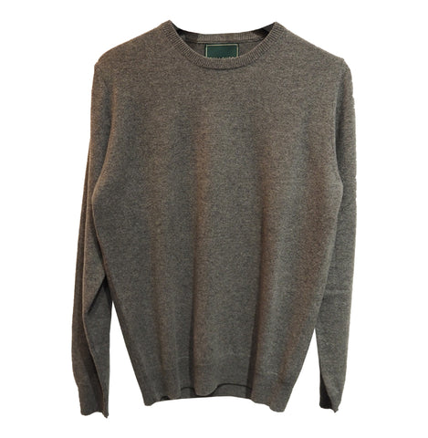 Crewneck Recycled Cashmere (Grey) - PULLOVER