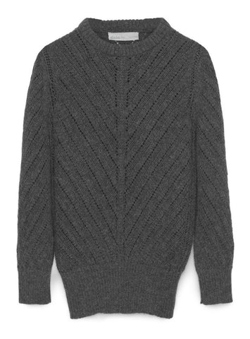 Amaru Rough Knitted Sweater - Aiayu