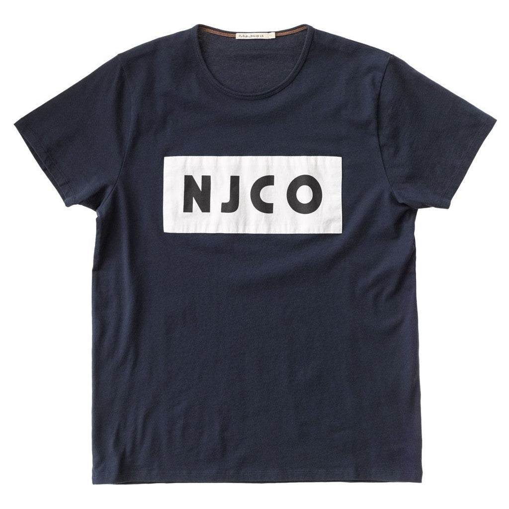 Anders NJCO Patched (Navy) - Nudie Jeans