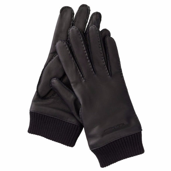Arvidsson Leather Glove (Black) - Nudie Jeans