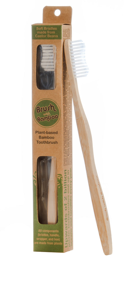 Bamboo Toothbrush - Clean Planetware