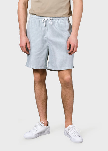 Bertram Shorts (White/Olive) - Klitmøller Collective