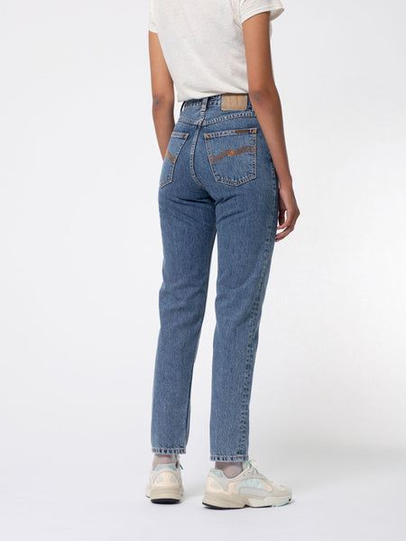 Breezy Britt Friendly Blue - Nudie Jeans
