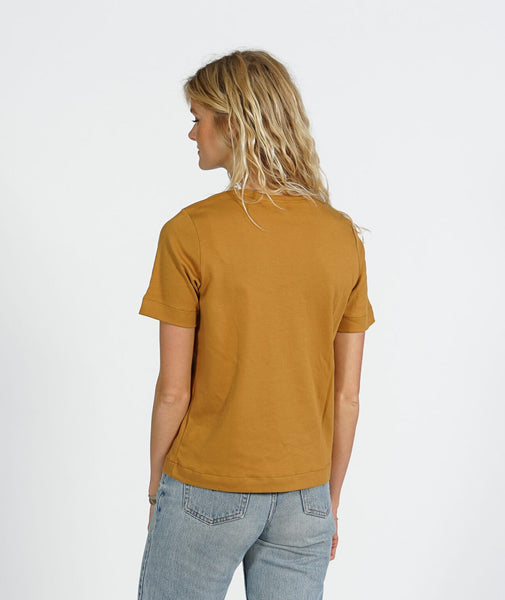 Pure Ly Women's Tee (Curry) - ELSK