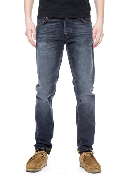 Lean Dean Ink Navy - Nudie Jeans