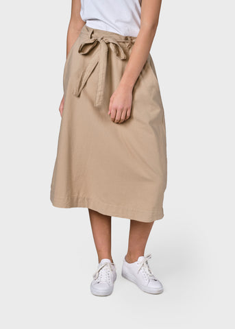 Flora Skirt (Sand) - Klitmøller Collective