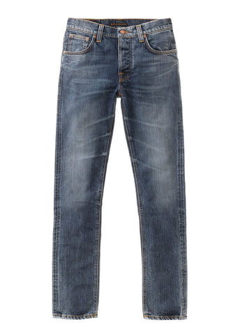 Grim Tim Shaded Blue - Nudie Jeans