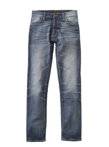 Grim Tim Dark Crispy Worn - Nudie Jeans