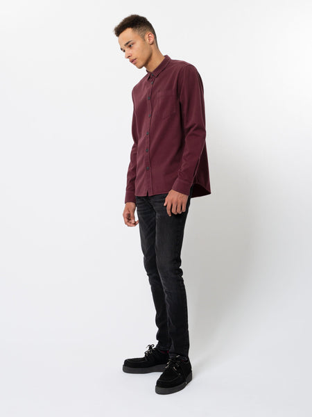 Henry Pigment Dyed (Fig) - Nudie Jeans