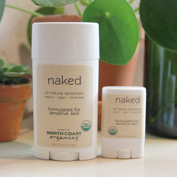 """Naked"" Deodorant - North Coast Organics"