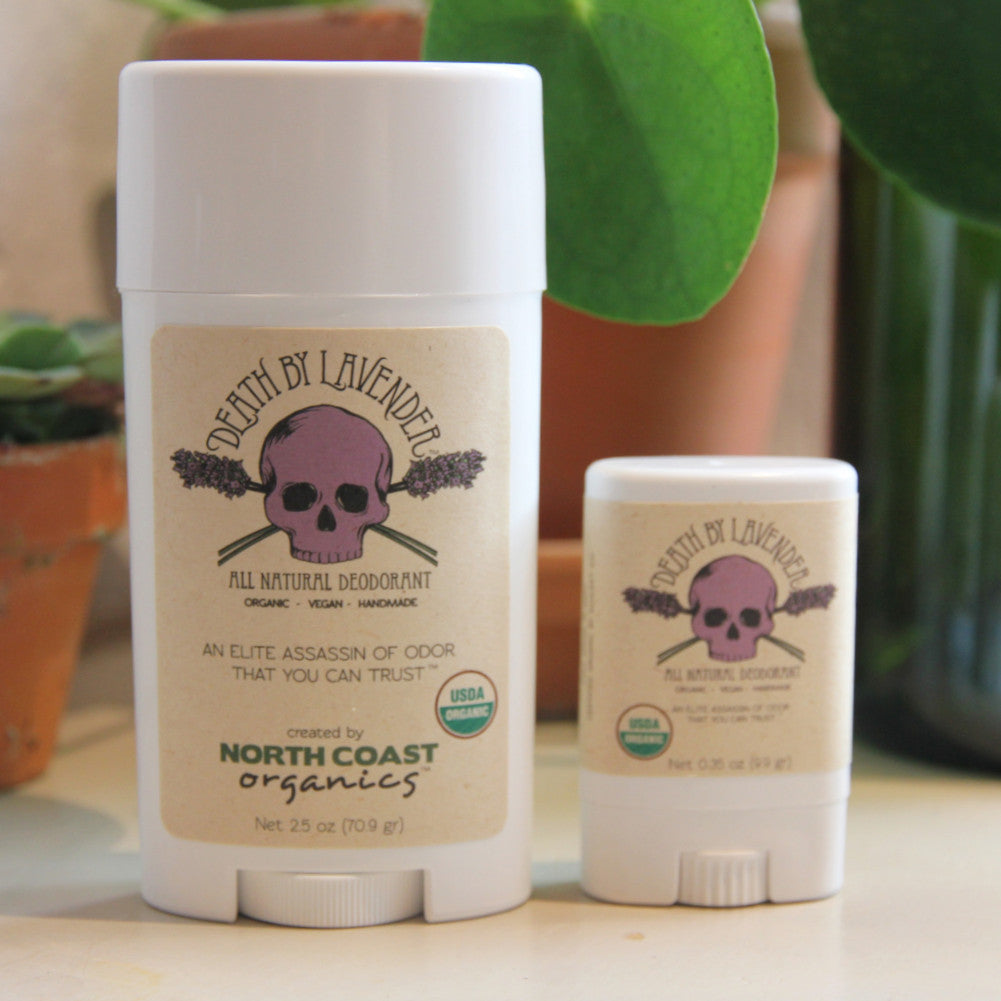 """Death"" Deodorant (Travelsize) - North Coast Organics"