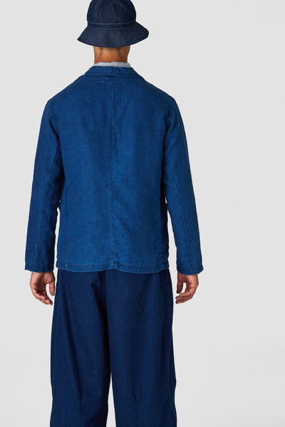 Hermioner (Dark Indigo Linen) -  Kings of Indigo