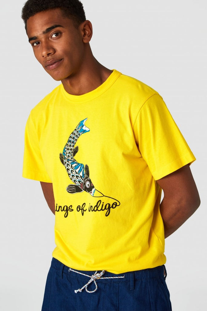 Darius Tee (Lemon) - Kings of Indigo