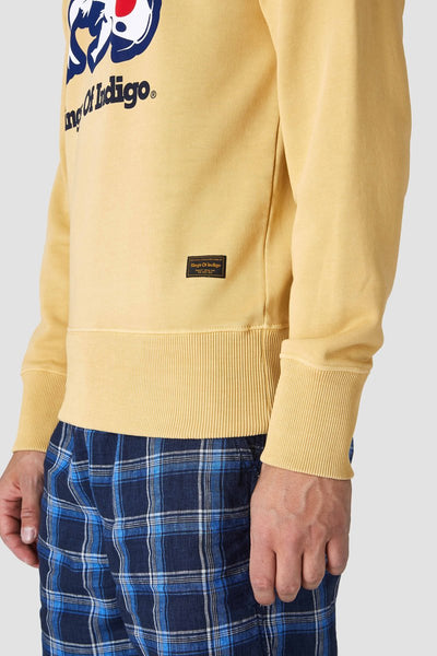 Parnell Sweatshirt (Carp Ochre) - Kings Of Indigo